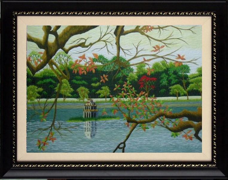 Tranh Hồ gươm 16
